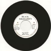 Triston Palma - Bad Minded / version (Black Solidarity) UK 7""
